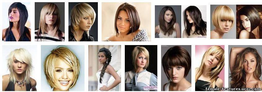 Популярные женские прически на средние волосы